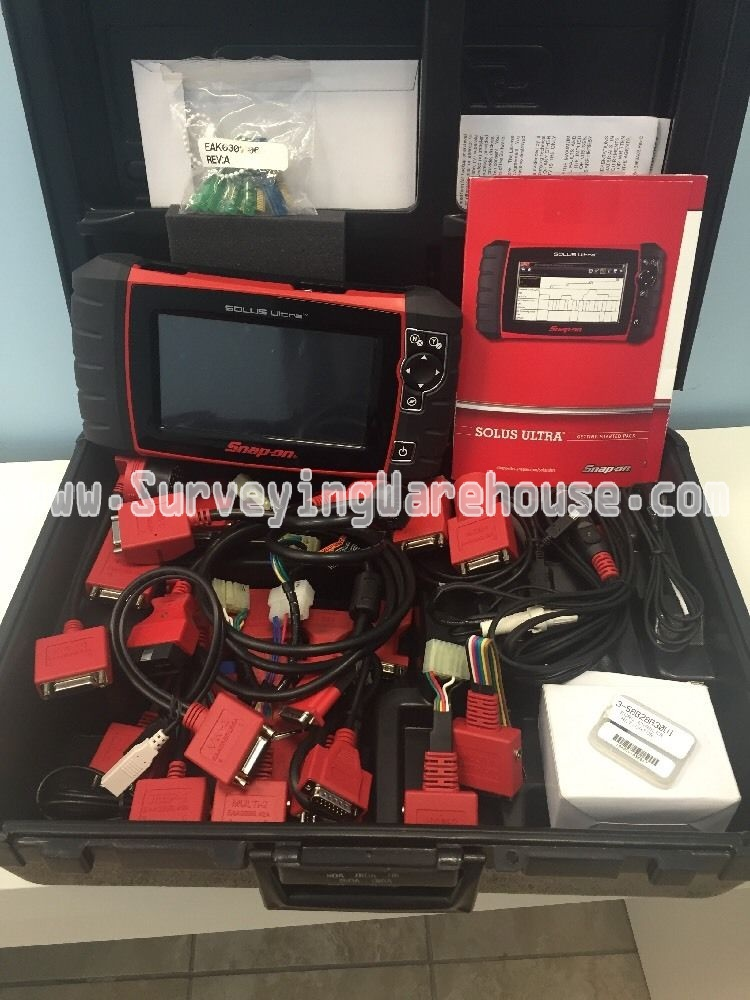 Snap-on Solus Ultra EESC318 Diagnostic Scanner - Surveying Warehouse